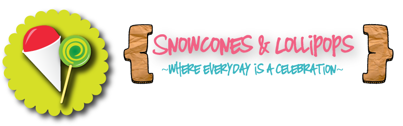 Snowcone & Lollipop Designs