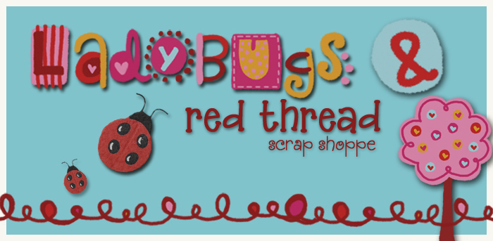 Ladybugs & Red Thread