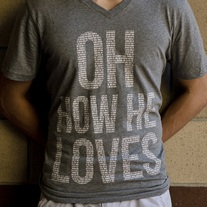Oh How He Loves - V-Neck (MEN'S)