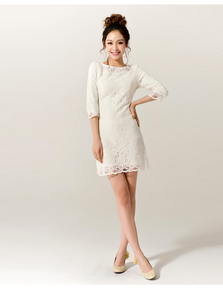 Silver Lace Boutique | Dakota - Short Style Prom Dress Bridesmaid ...