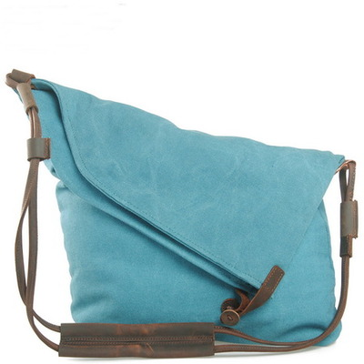 leather shoulder strap canvas shoulder bags for women