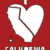 California love, 5x7 print