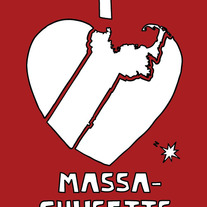Massachusetts love, 5x7 print