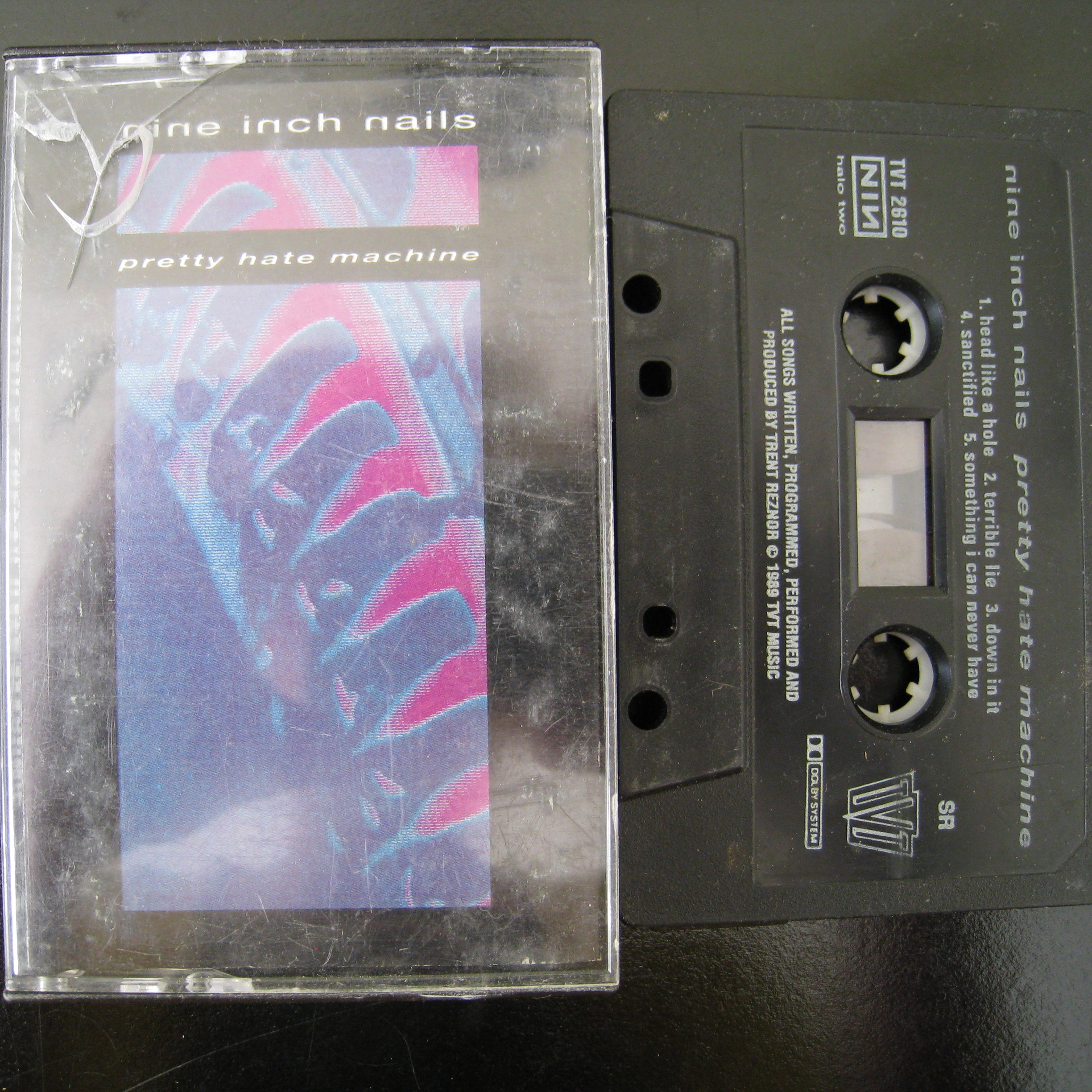 Nine Inch Nails/pretty hate machine 1989 Cassette Tape · Desert ...