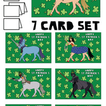 Centaurs St patricks 7 card set