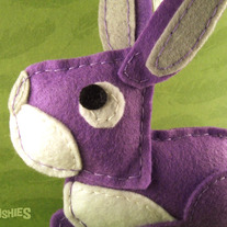Animal Felt Easter Ornament - Ester the Bunny