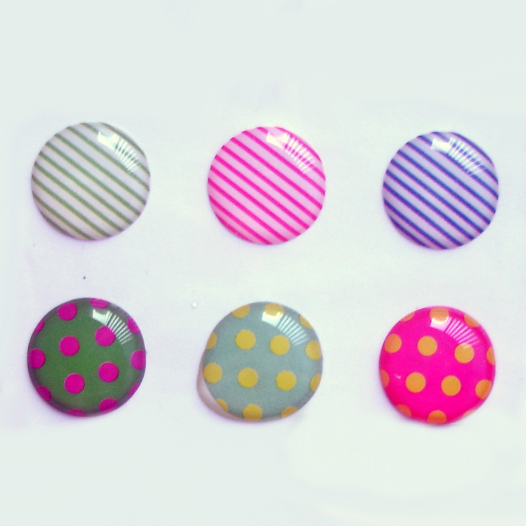 stripes and dots iphone home button sticker 183 kaicouture