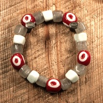 Ox Blood Moon Men's Bracelet