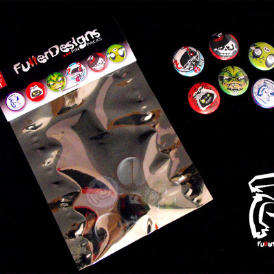 Fullerdesigns pin packs