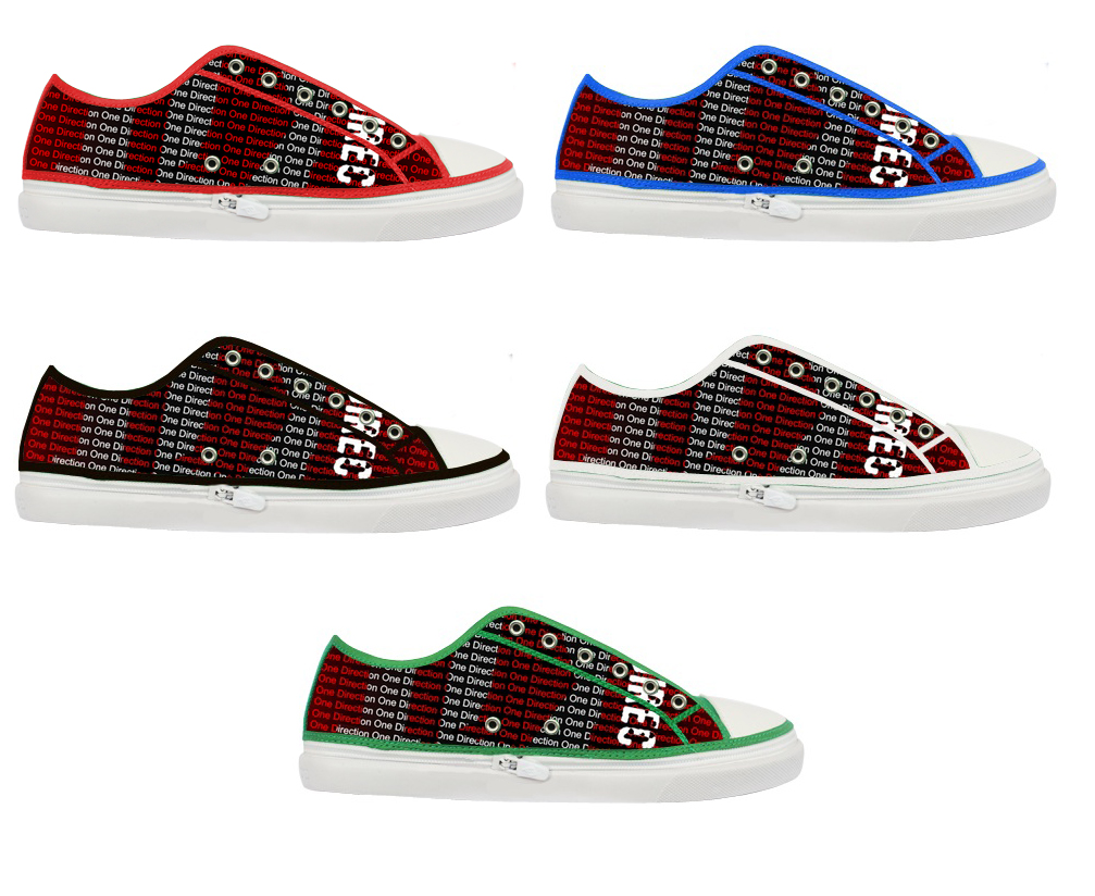 one direction 1d 1 direction 5 colors custom s