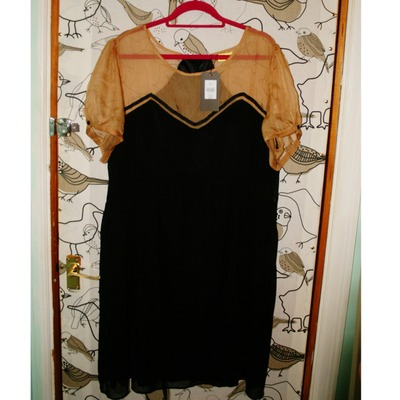 Nwt max c chiffon dress 26