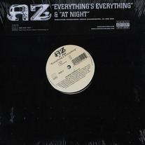 "AZ - Everything's Everything/At Night 12"" Vinyl"
