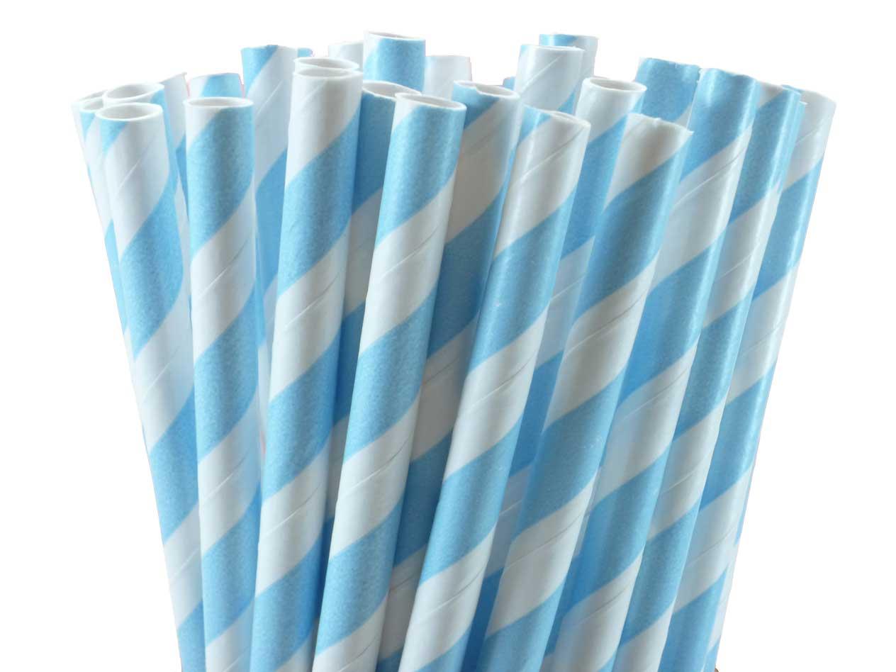 Striped Straws Paper Stripes Paper Straws