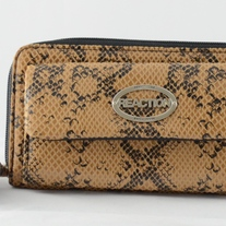 Kenneth Cole Snakeskin Print Wallet