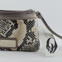 Nine West Python Wristlet Wallet