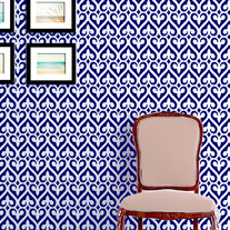 Beautiful Sasha Moroccan Inspired Modern Wall Stencil