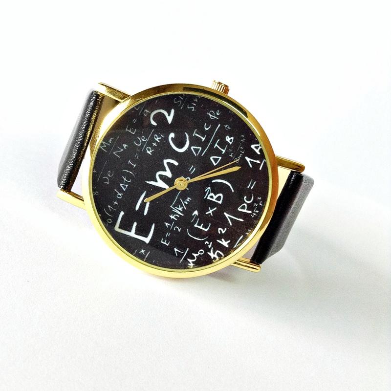 einstein watch e mc2 equation watch vintage style leather watch einstein watch e mc2 equation watch vintage style leather watch women watches