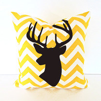 Dear Pattern easy DIY Pillow or Shirt Wall Stencil Home Decor