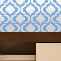 Estella Allover Pattern Wall Stencil Home Decor
