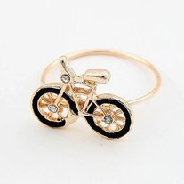 FREE SHIPPING Bicycle Bike Adjustable Ring Girls Womens Teen