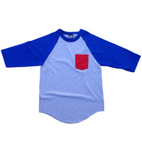 CONTRAST POCKET RAGLAN