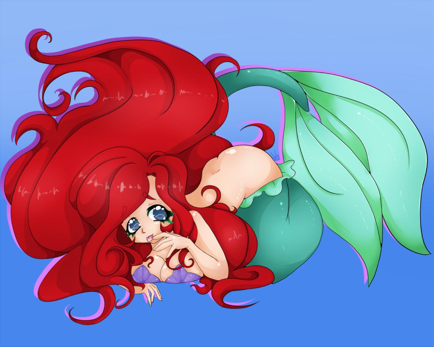 Little Mermaid Tentacles