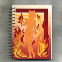 Notebook S - Raven Wolf: Six Sources - Fire