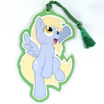 Bookmark - My Little Pony FiM: Derpy Hooves (Fanart)