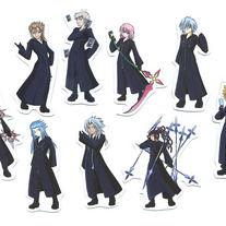 Mini Magnets - KH Organization XIII Character Magnets (Fanart)