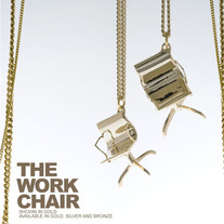 THE WORK CHAIR - SILVER