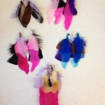 Sassy Feather Earrings