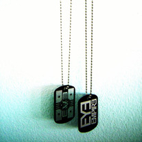 """Eye Empire"" Dog Tags"