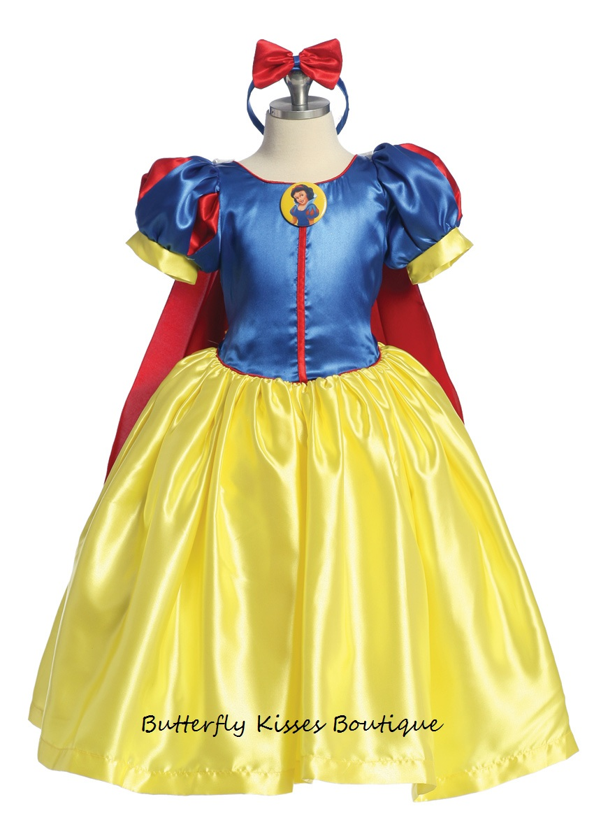 snow white princess toddler girls costume