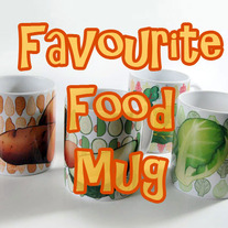 Pick-Your-Own Favourite Food Mug