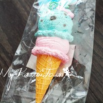 RARE Hello-Kitty Ice-Cream Squishy