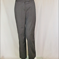 Grey Pinstripe Slacks