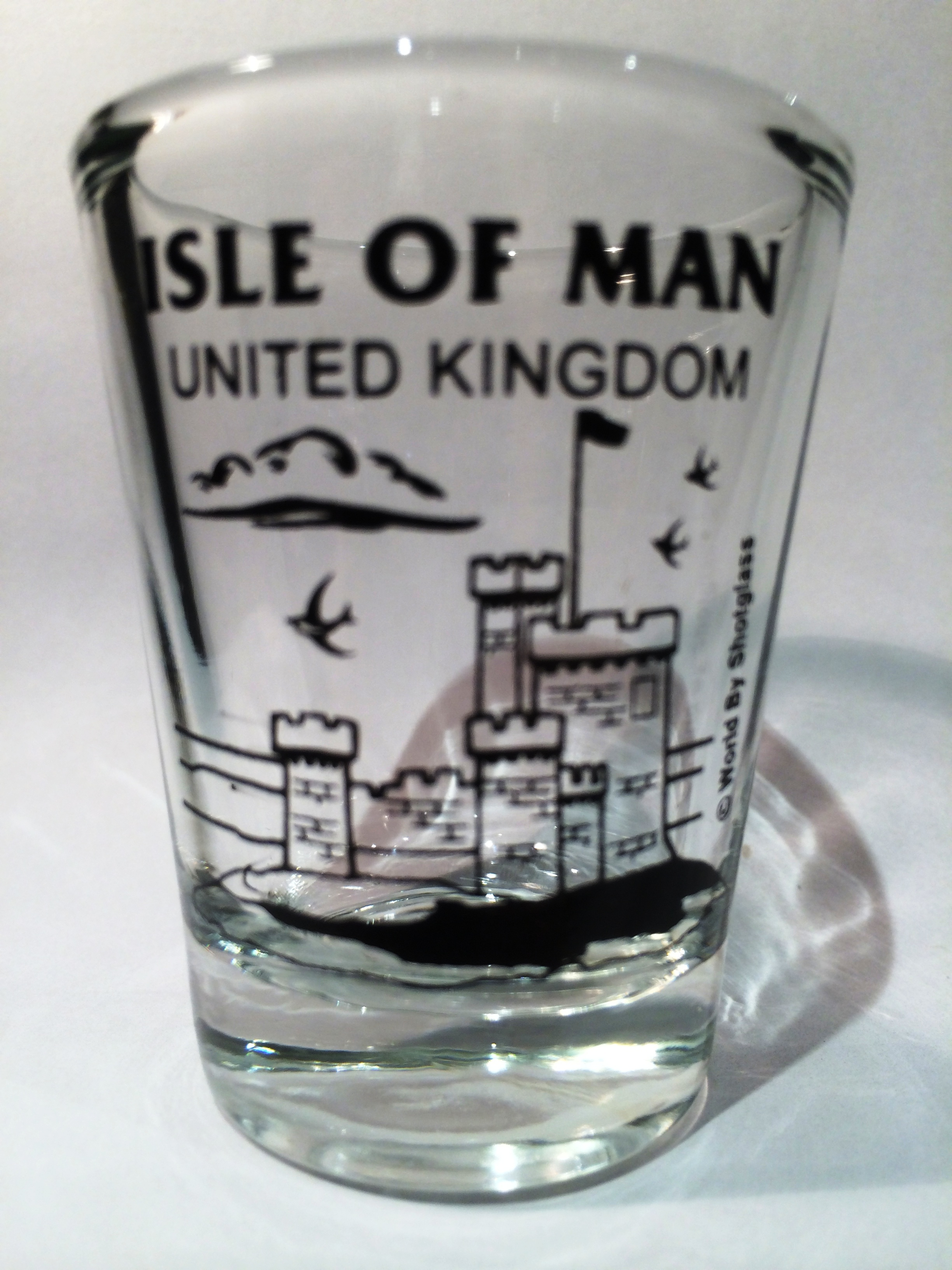 Isle Of Man United Kingdom  city photo : Isle Of Man United Kingdom Peel Castle Shot Glass · World By ...