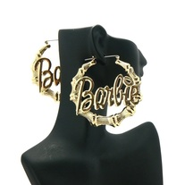 Barbie Bamboo Hoop Earrings