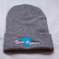 Diamond King Beanie (Grey/Teal)