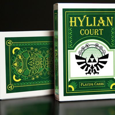 Hylian court playing cards