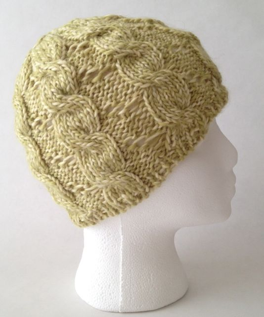 Helen Kreations SALE nearly 40% OFF: Hand knit hat, knit womans hat, w...