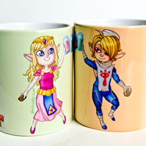 Sheik and Zelda's Potion Mug