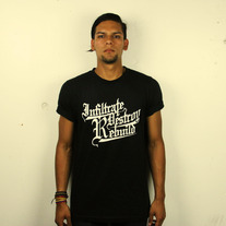 IDR Black Crew Neck Tee