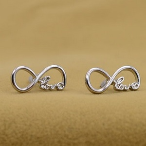 Infinity Love Earrings