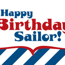 Sailor Birthday Card