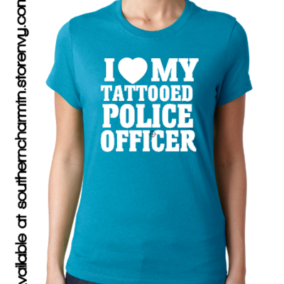 Law enforcement support apparel southern charm designs for Tn tattoo laws