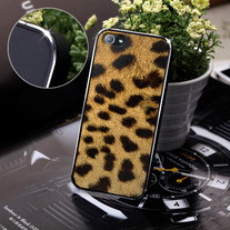 New Chic Brown Leopard Pattern Apple iPhone 5 Case Cover
