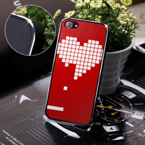 New Chic Game Boy Red Heart Apple iPhone 5 Case Cover