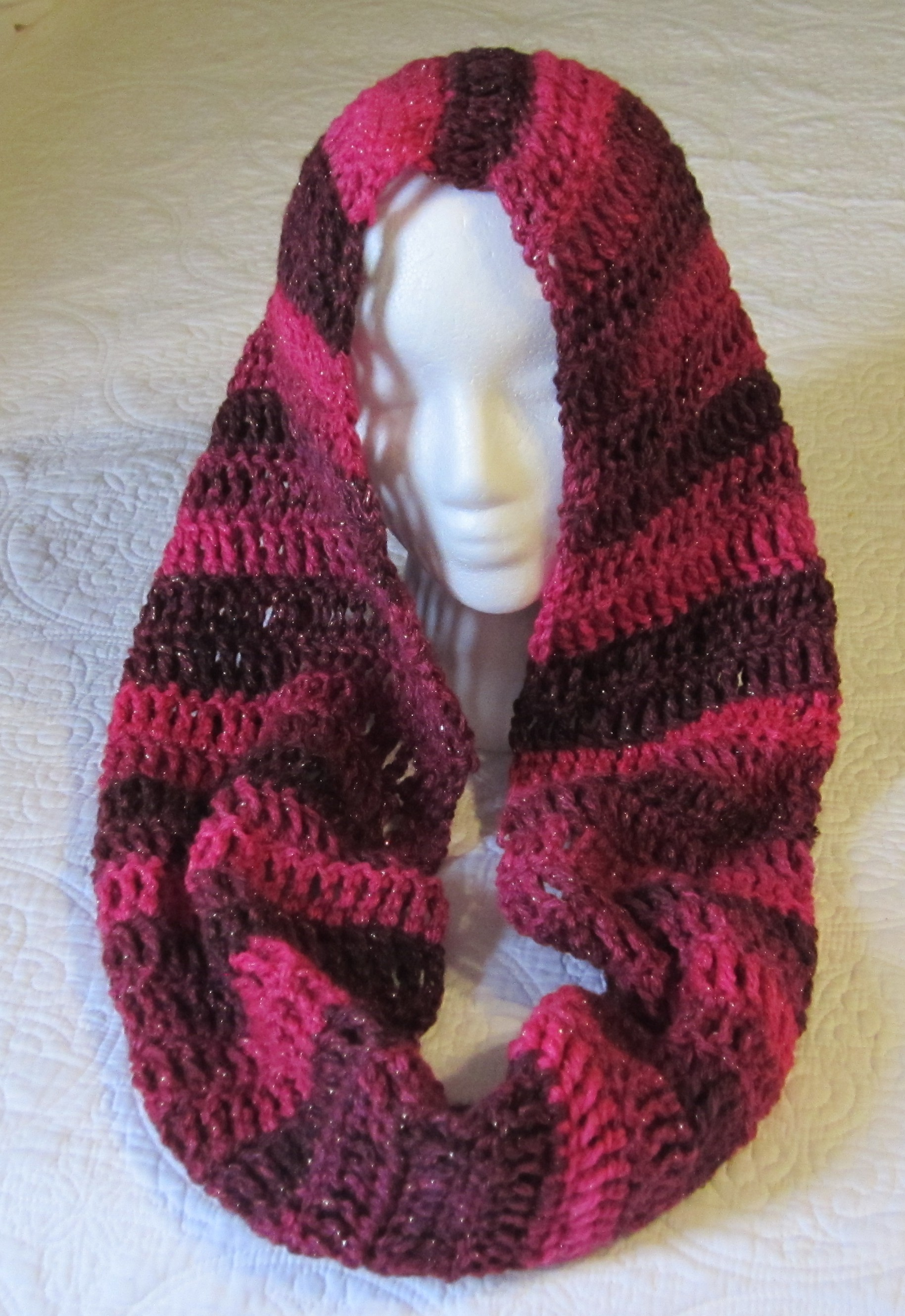 Isis Infinity Scarf Free Crochet Pattern From Red Heart Yarns : Red Heart Cowl Scarf Pattern submited images.