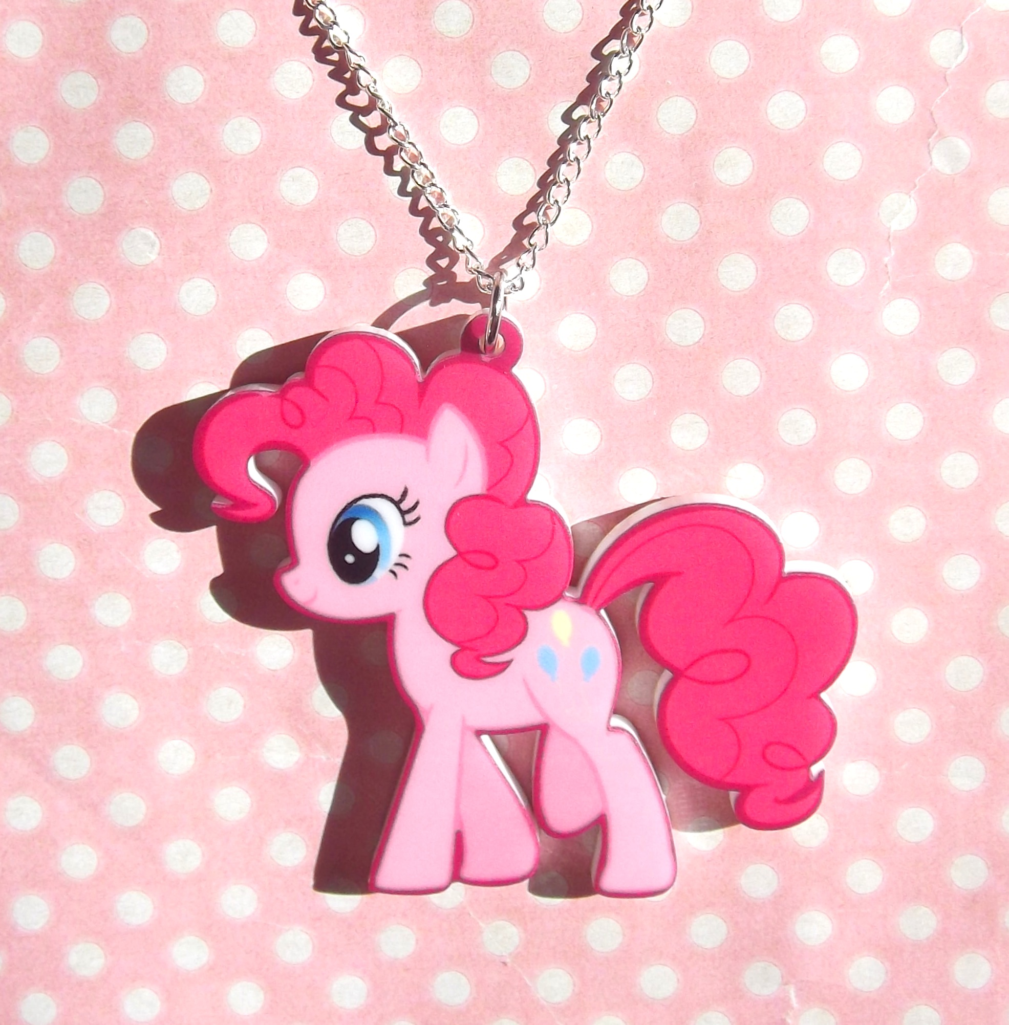 My little pony friendship is magic pinkie pie necklace on storenvy 20120521dqoriginal mozeypictures Gallery